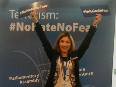 No hate, no fear! Adunare Parlamentară a Consiliului Europei Oana Bizgan