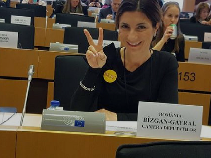 women in politics oana bizgan